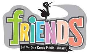 friends (of the Oak Creek Public Library) logo