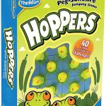 Hoppers: Peg-Solitaire Jumping Game