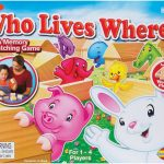 Who Lives Where?: a Memory & Matching Game